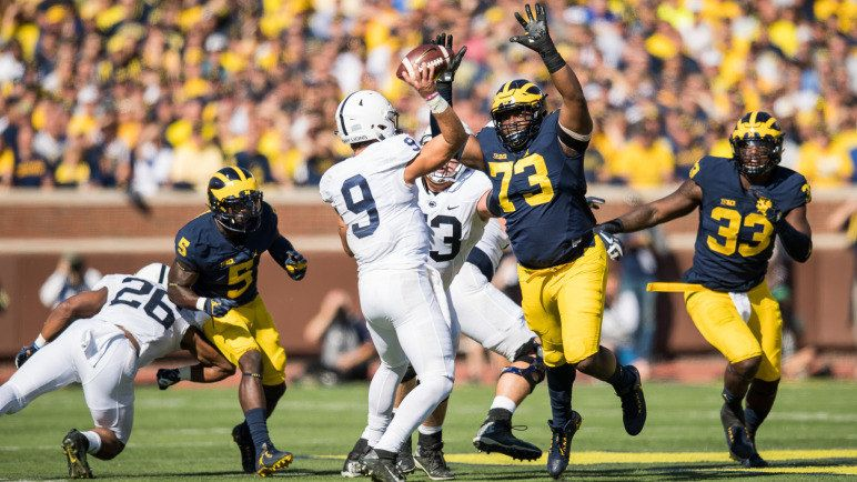 Wisconsin Visits Michigan in Battle of Top 10 Teams http