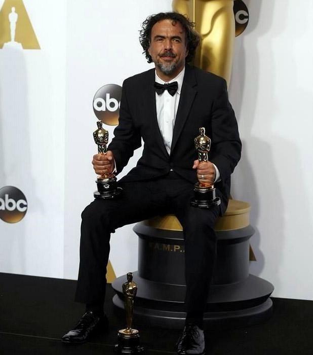 #Oscars2015  TRES SIN SACATE!