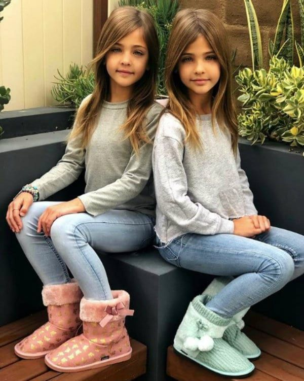 Identical Sisters Born In 2010 Have Grown Up To Be