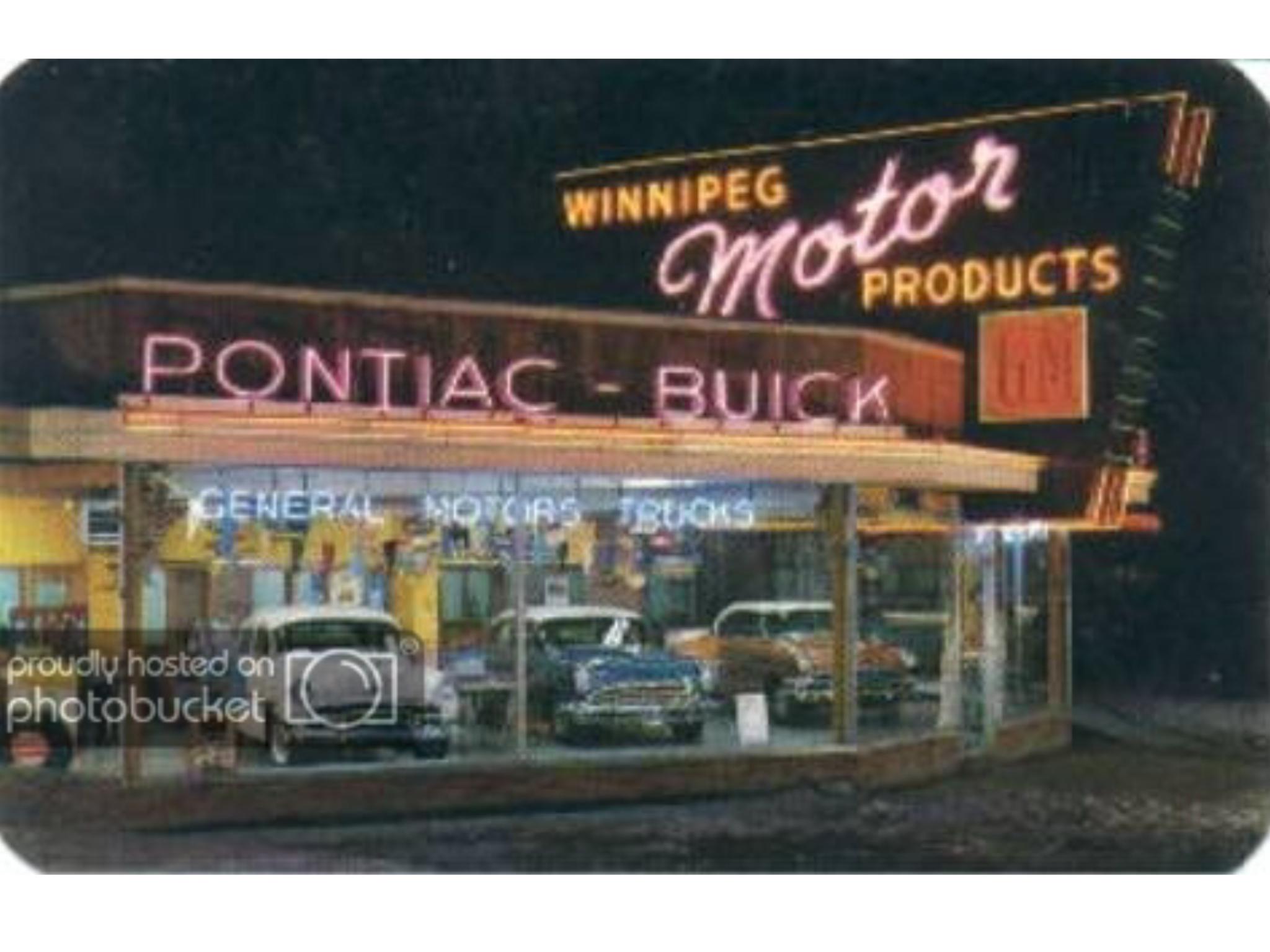 Winnipeg Motor Products Pontiac Buick Dealership Winnipeg Manitoba Canada Pontiac Buick Dealership [ 1536 x 2048 Pixel ]