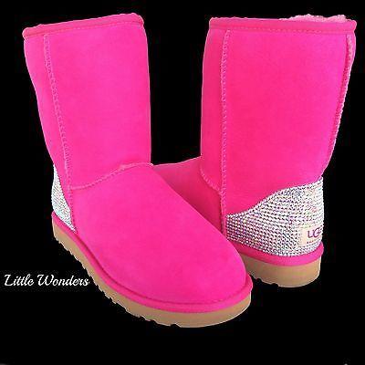 61d136d166ad4 Swarovski Rhinesstone Women Topical Sunset Ugg Boots