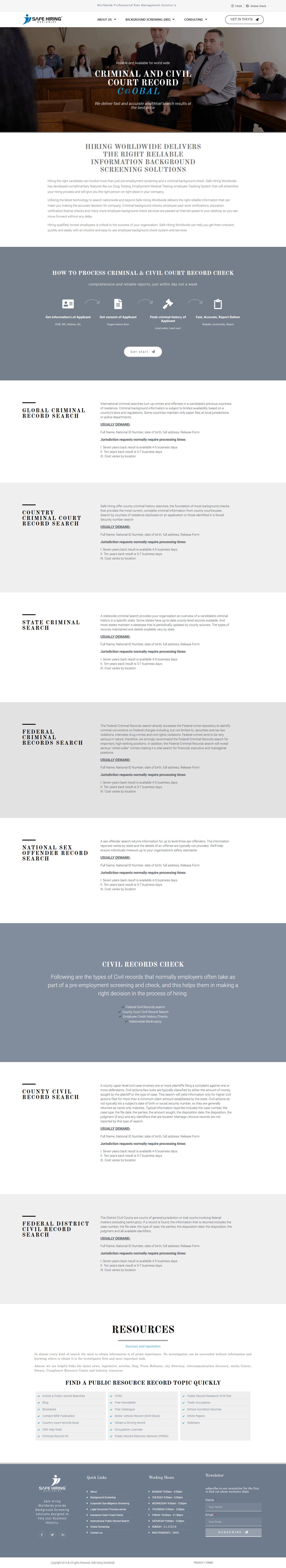 International Criminal Court Record Check Criminal Background Check Police Records Risk Management