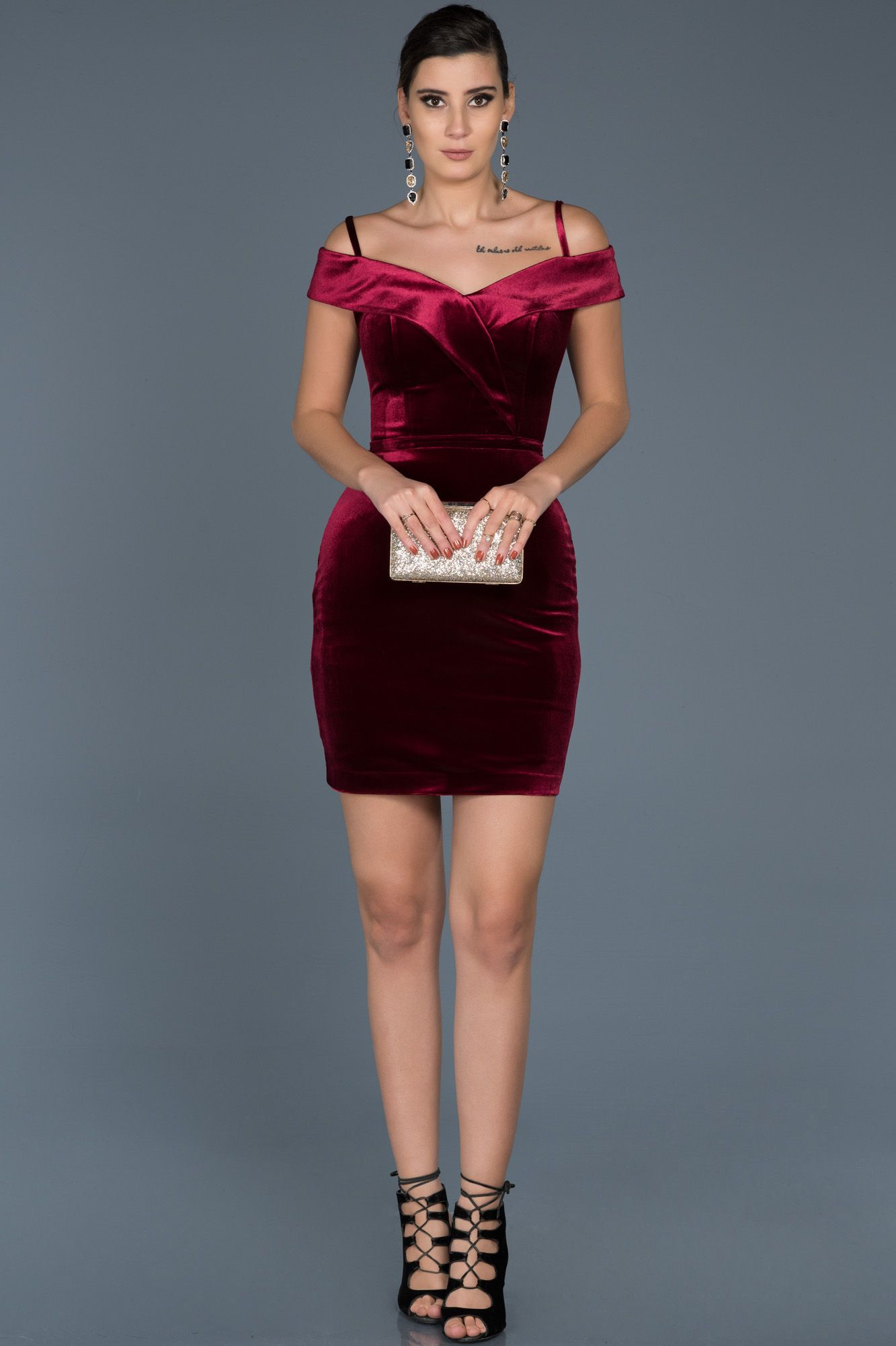 3e6ab6783ae2d kadife elbise, #velvet dresses, #kısa elbise, #kısa abiye elbise ...