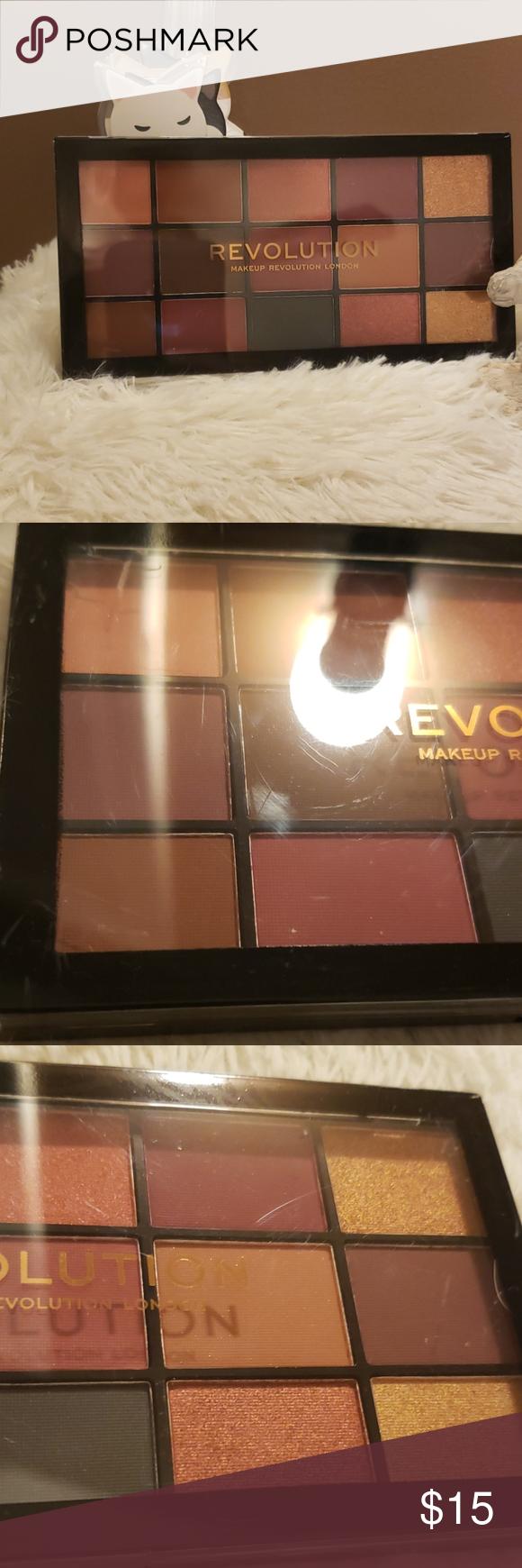 Makeup Revolution reloaded palette new NWT Makeup