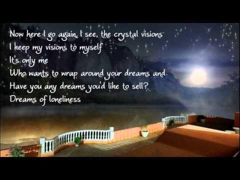 Fleetwood Mac Dreams Lyrics Fleetwood Mac Dreams My Favorite Music Music Songs