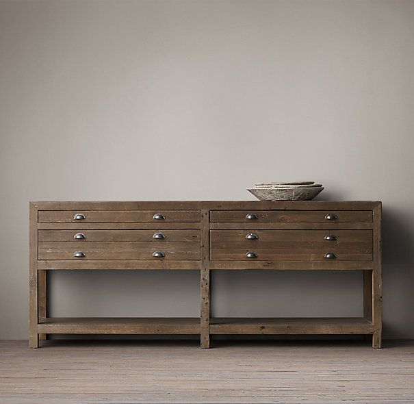 Entry Console Table From Restoration Hardware