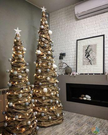 40+ Unusual Cool Christmas Tree Alternatives 2019 | MARMALETTA  #christmastreeideas