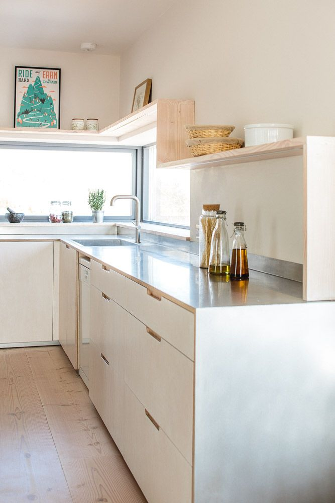 contemporary eco kitchen in the cotswolds - Eco Kitchen Cabinets