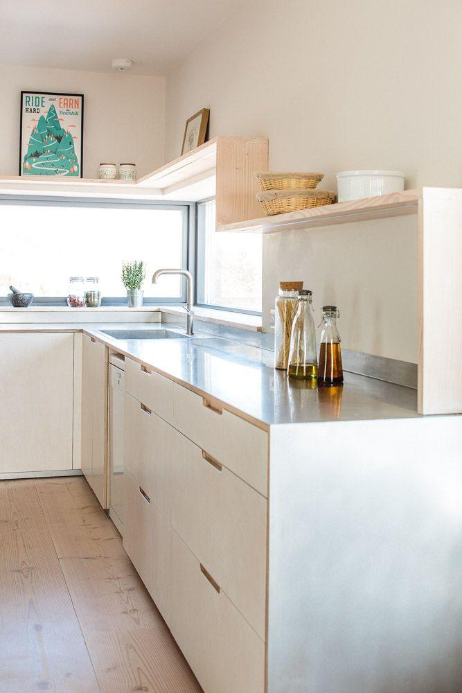 Contemporary Eco Kitchen | E △ T | Pinterest | Plywood kitchen ...