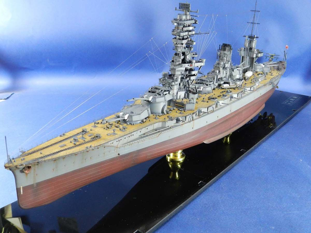 Aircraft carrier models large scale - 1 350 Ijn Battleship Fuso Fujimi Battleshipaircraft Carrierscale
