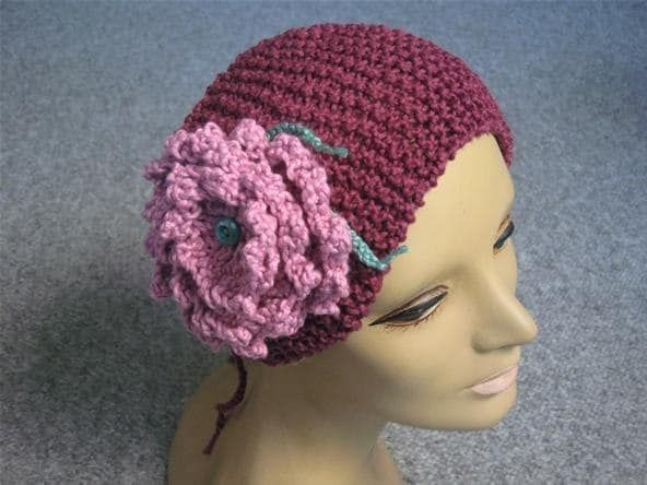 Loom Knitting Flower Headband Pattern Photos Craft Pinterest