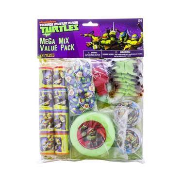 Teenage Mutant Ninja Turtles Favours Pack Green | Spotlight Australia