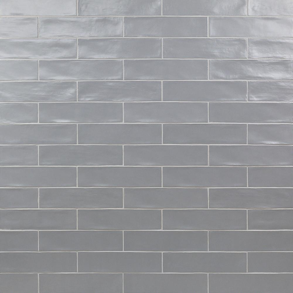 Ivy Hill Tile Strait Gray 3 In X 12 In 8 Mm Matte Ceramic Subway Wall Tile 22 Piece 5 38 Sq Ft Box Ext3rd100753 The Home Depot Ceramic Subway Tile Ivy Hill Tile Splashback Tiles