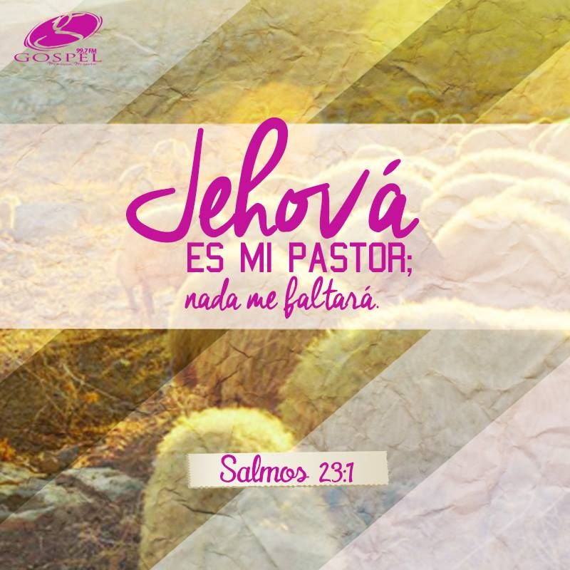 #VersiculoDelDía Salmos 23:1 Nada me faltara, si estoy bajo tu cobertura.