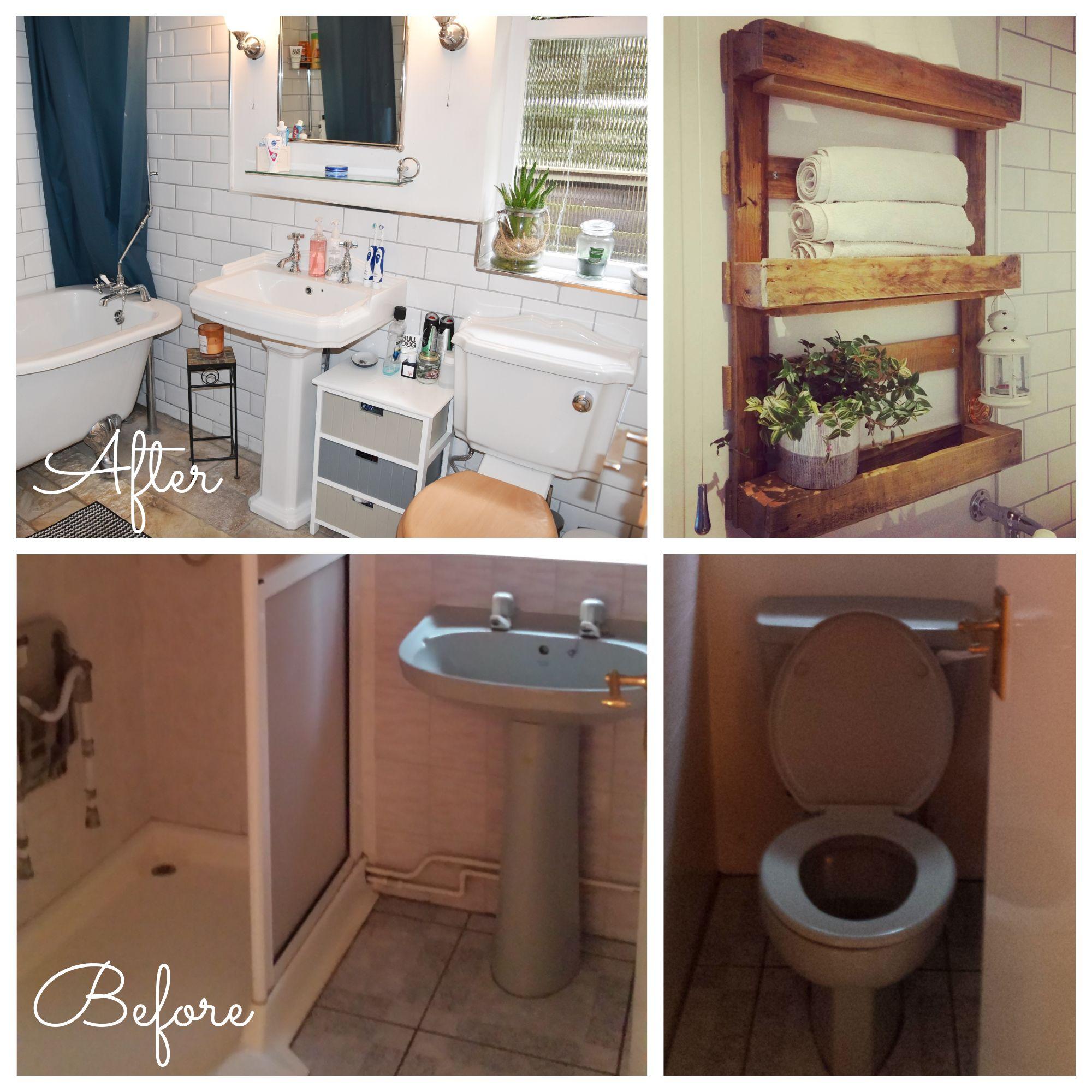Bungalow remodel | Avocado bathroom suite, Wet room shower ...
