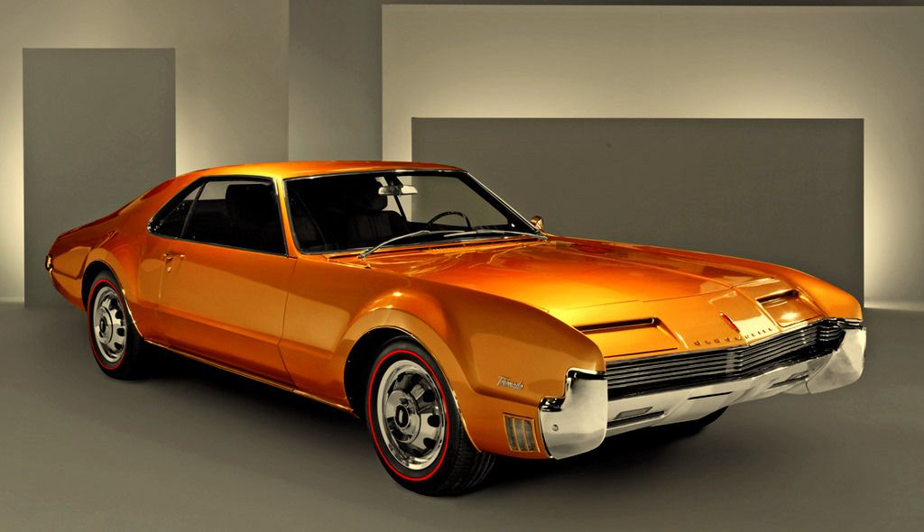 A sad reminder of the great cars that used to flow from Detroit ...