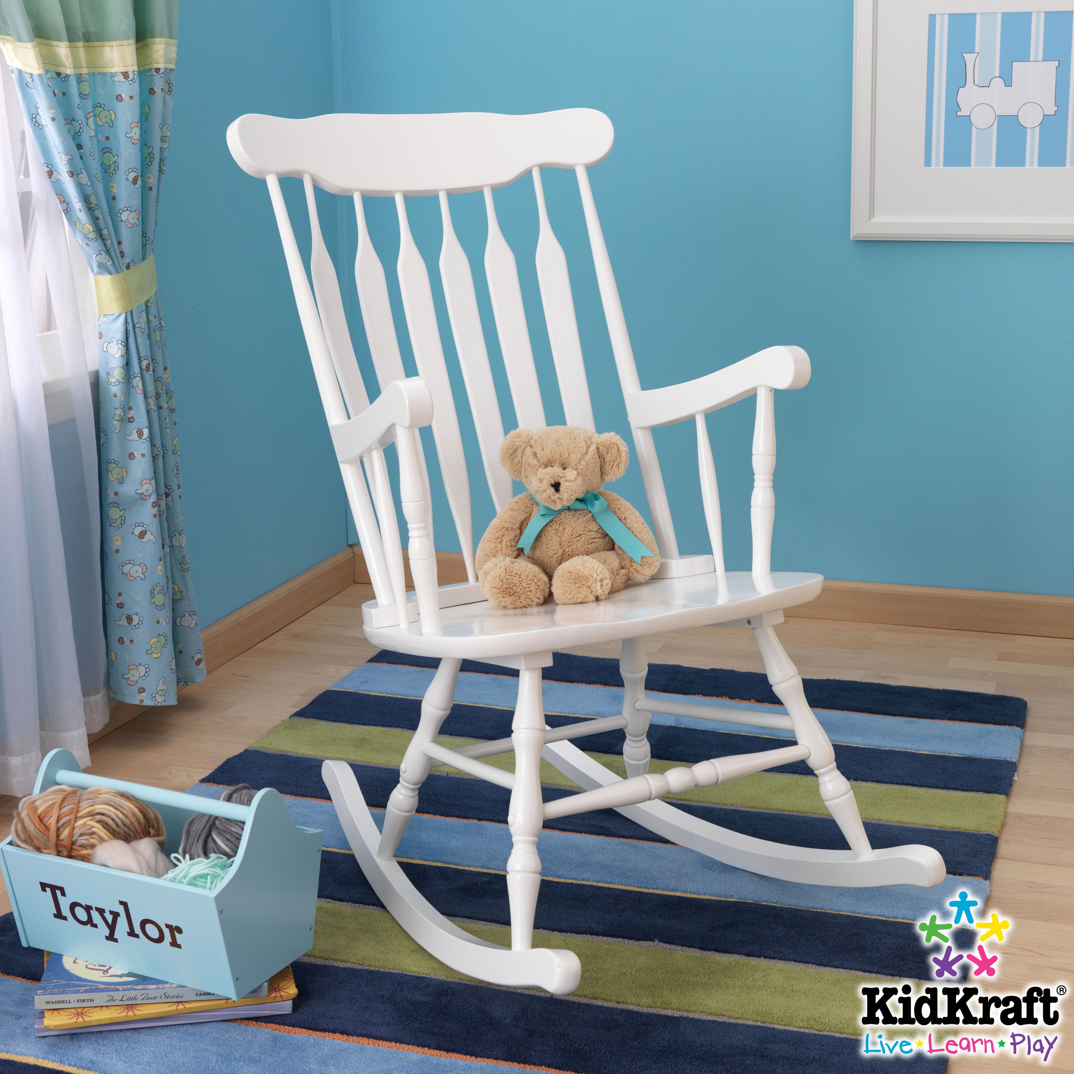 white-adult-rocking-chair