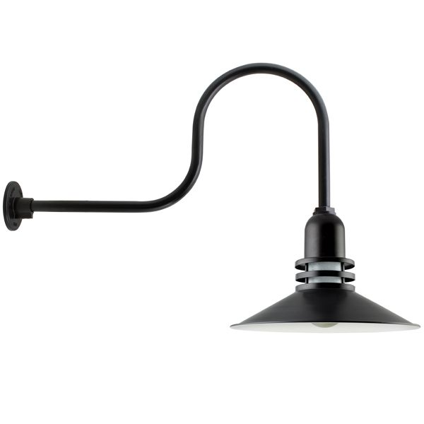 Cherokee uplight gooseneck outdoor wall light barn light our core lighting range consists of gooseneck lights rustic wall sconces commercial lighting options and vintage pendants aloadofball Image collections