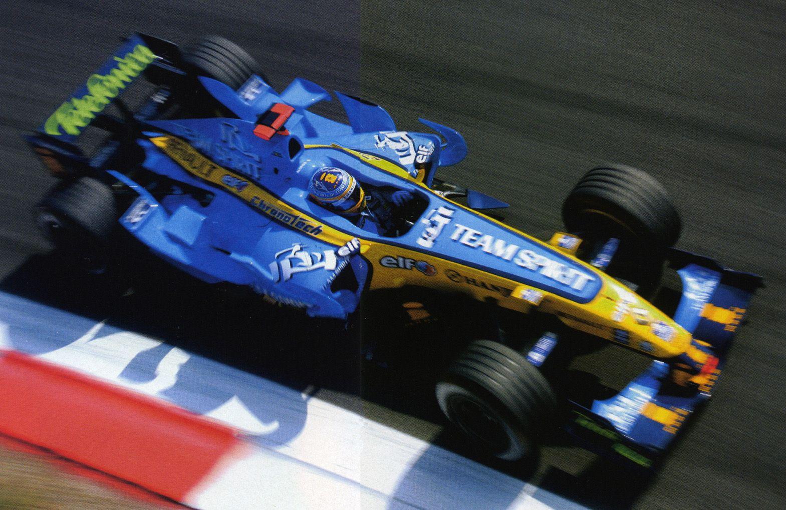 2006 Fernando Alonso Renault R26 | Carros, Desenhos animados