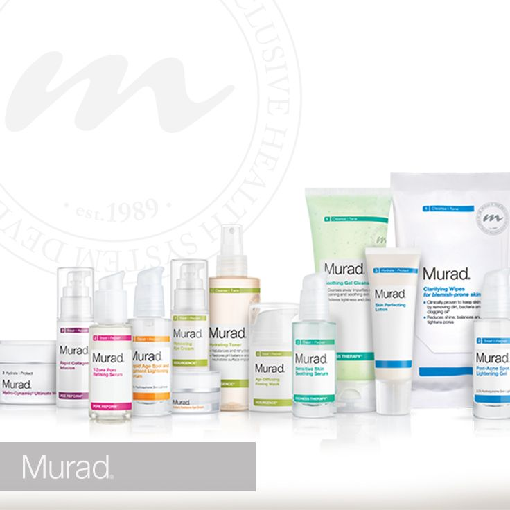 Murad Offers Targeted Skin Care Solutions Skin Care Kit Murad Products Body Skin Care