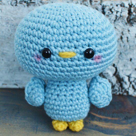 Create This Free Blue Bird Crochet Pattern Blu The Bird Is A Fun