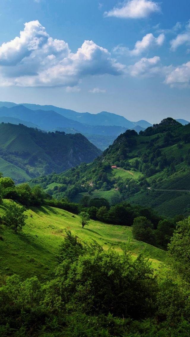 Cantabrian Mountains Spain Cool Landscapes Green Landscape Landscape Wallpaper