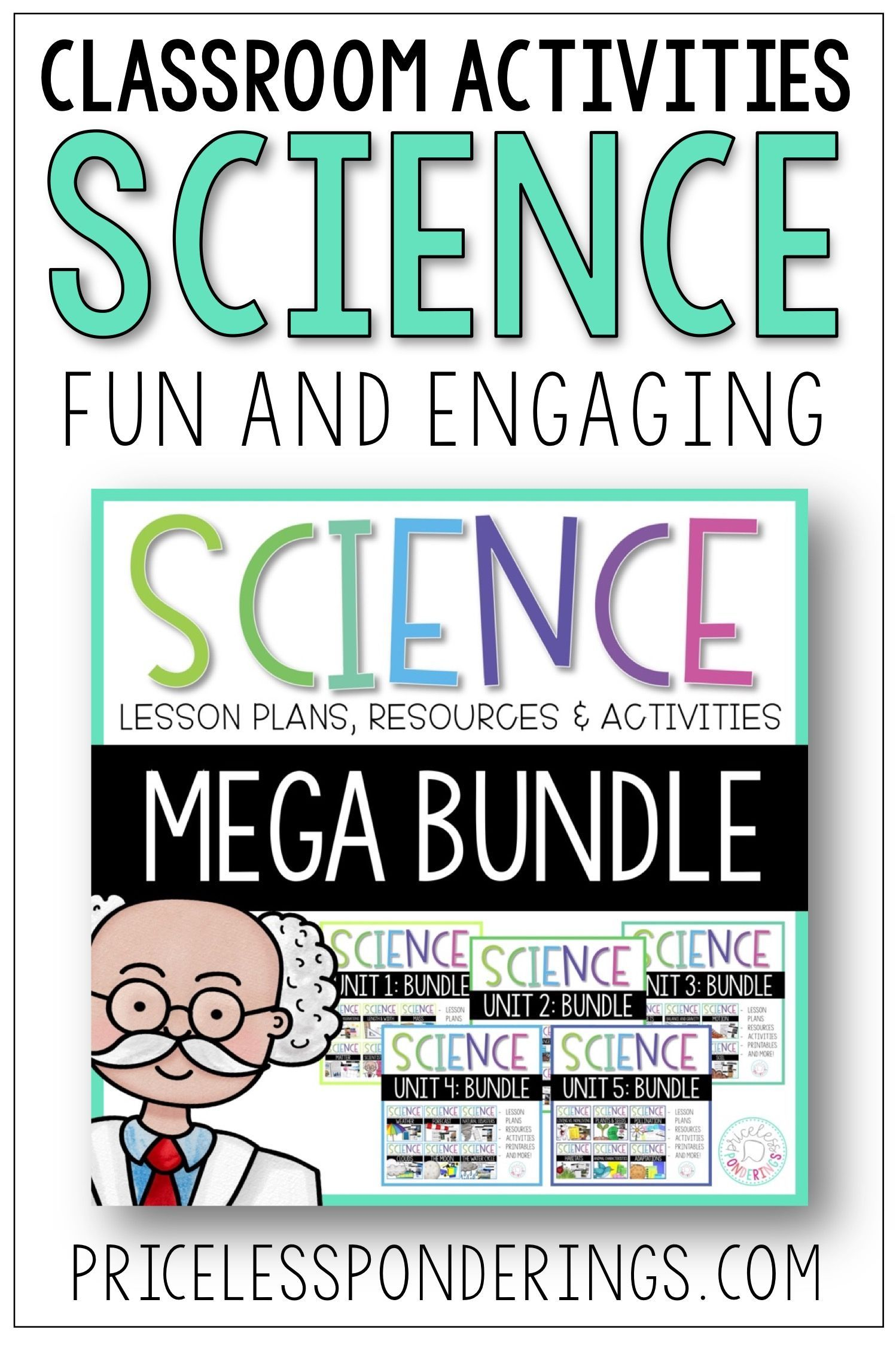 Science Interactive Notebook Yearly Bundle And Activities