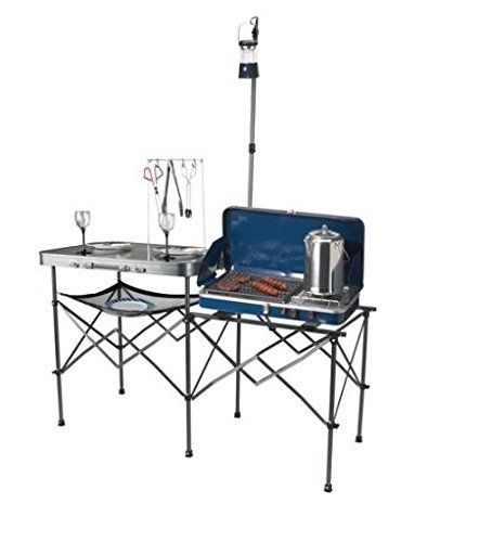 Ozark trail deluxe portable camp kitchen table ozark trail camping ozark trail deluxe portable camp kitchen table ozark trail workwithnaturefo
