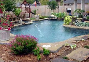 A Modern L Shaped Pool Pools In 2018 Pinterest Pool Designs intended for Garden Pool Ideas