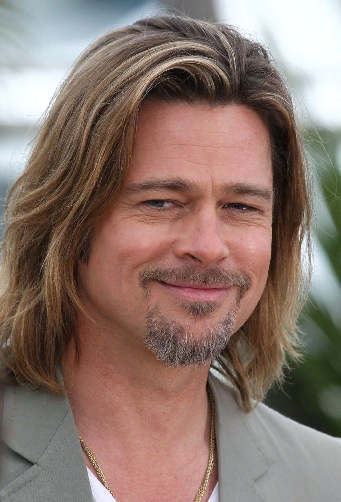 Brad Pitt Dimensional Hair Dark Blonde With Light Blonde