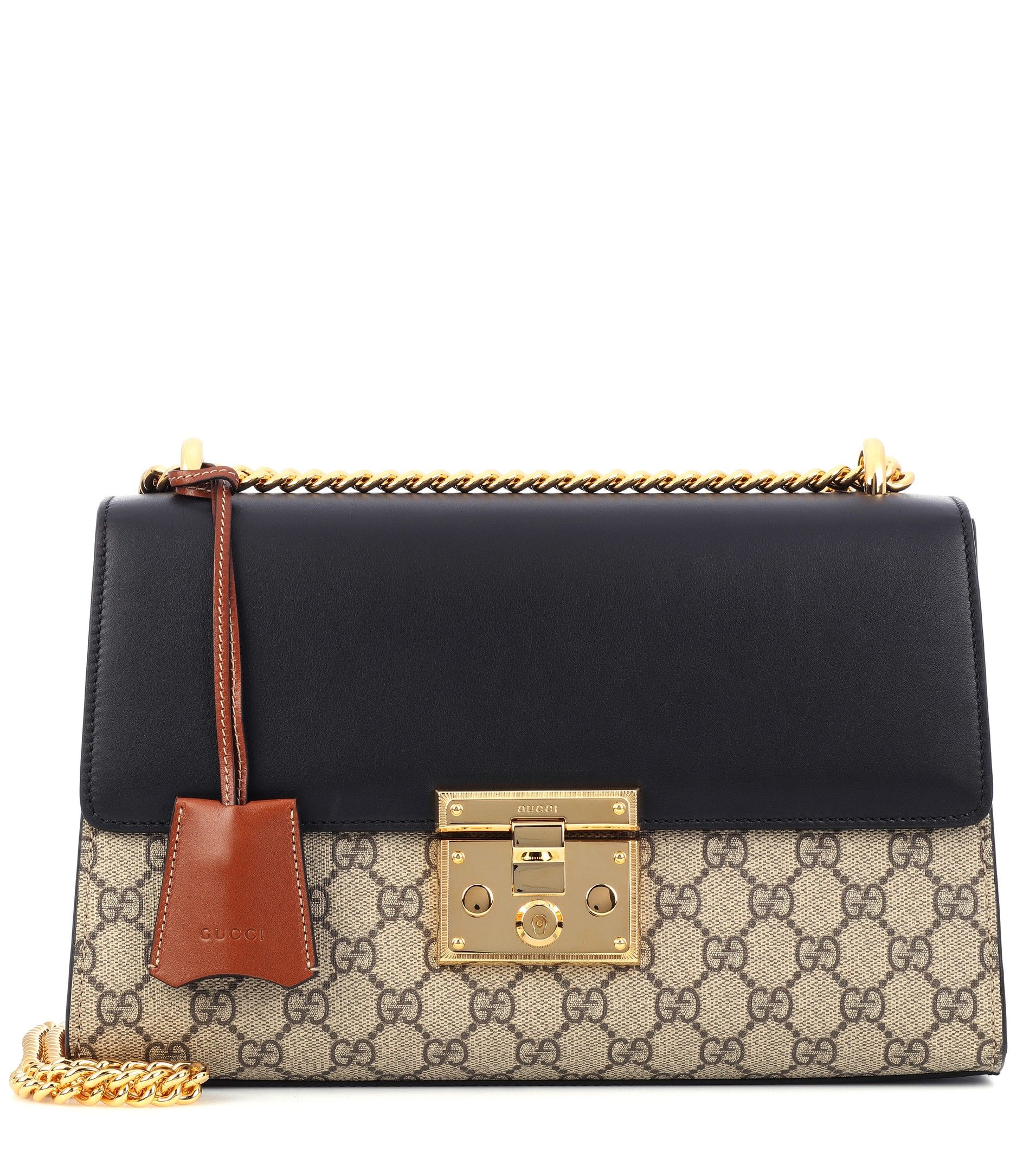 81157fb938cc94 Borsa A Tracolla Padlock Gg Supreme Medium In Pelle   Gucci - mytheresa