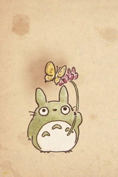 Another Totoro Season Thing Awesome トトロ ジブリ イラスト かわいい ジブリ