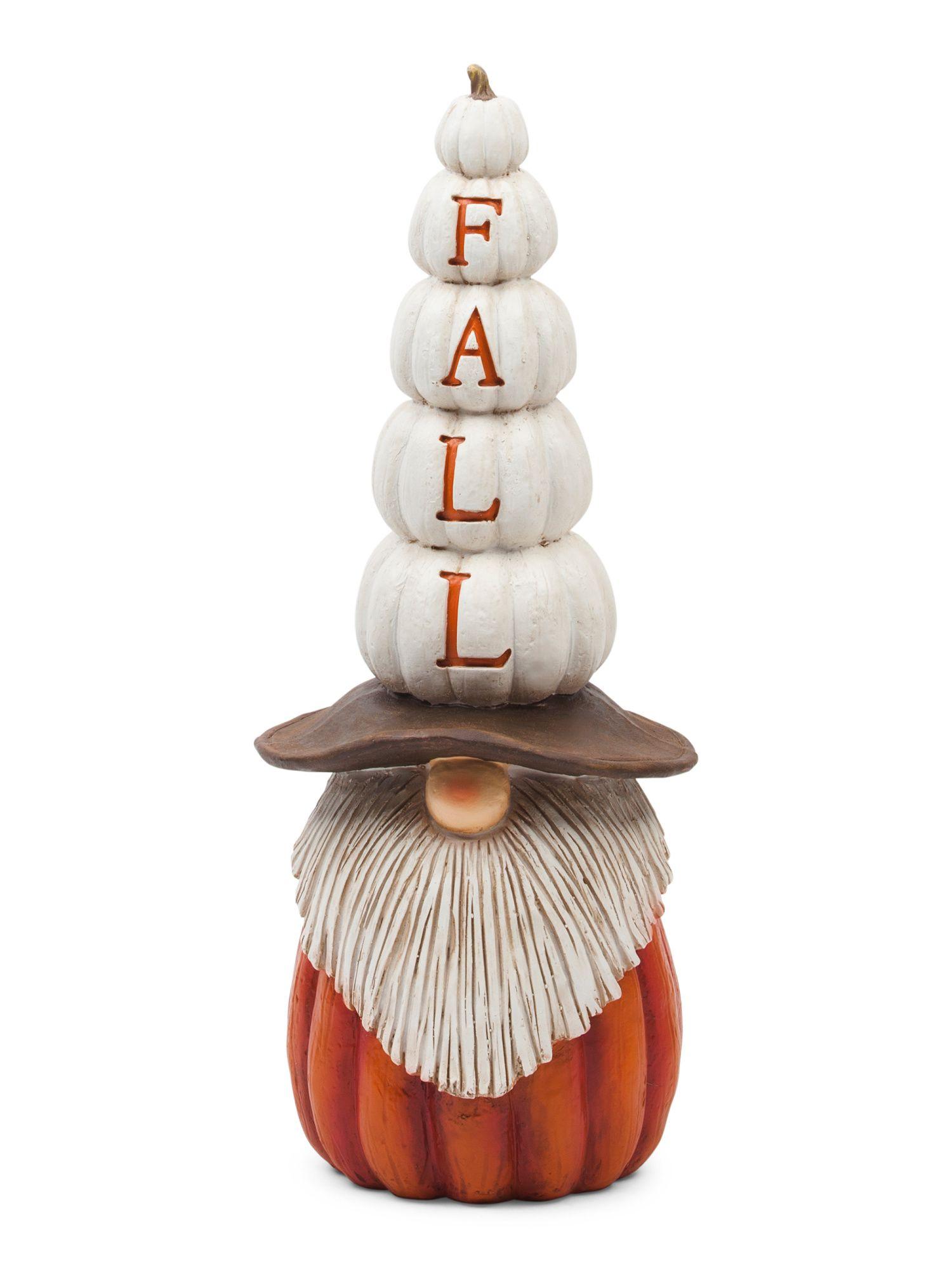 20in Pumpkin Gnome Decor Fall Decor T J Maxx Fall Decor 2020 Pumpkin Pillows Harvest Tablecloth