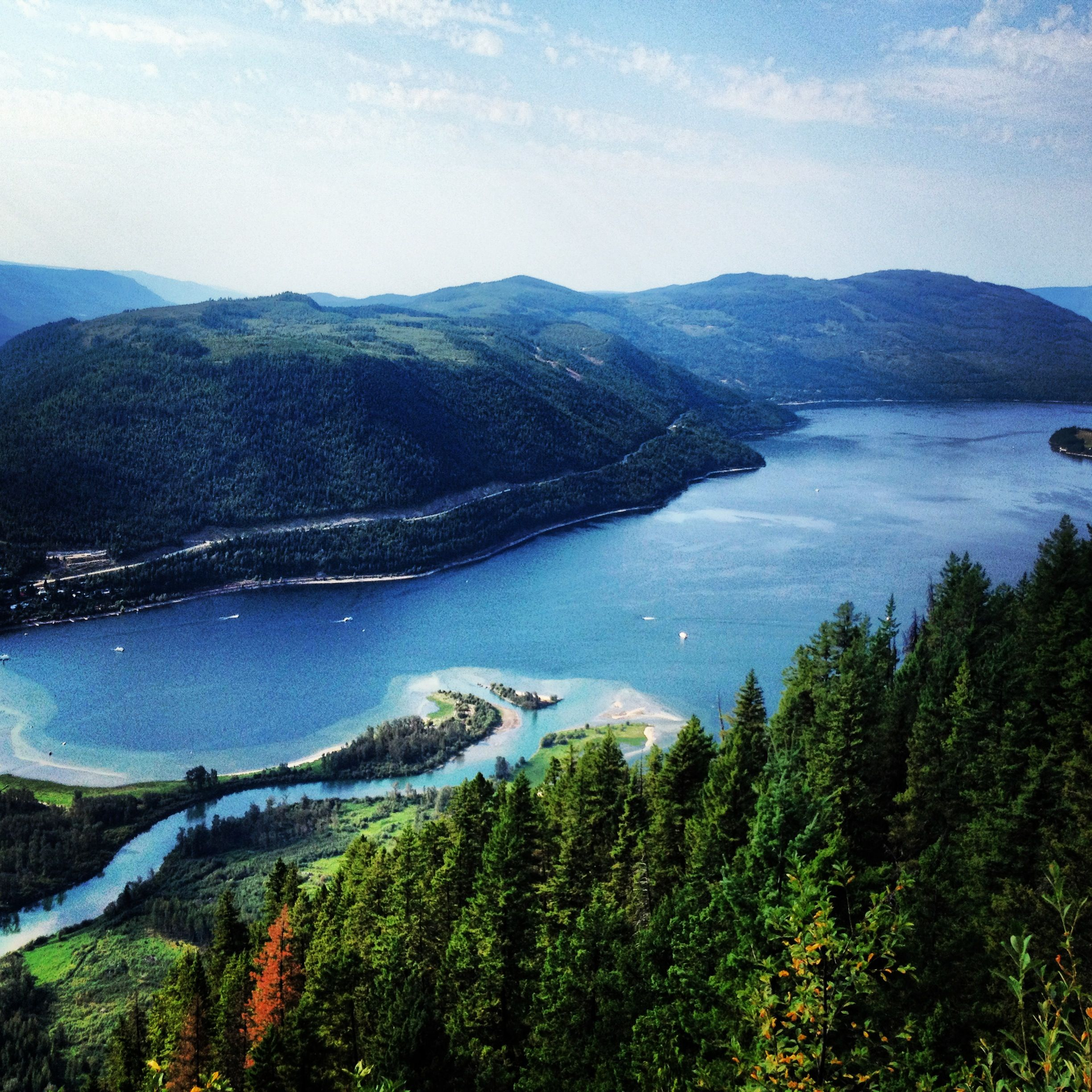 Places To Visit In Vancouver During Summer: Mara Lake, British Columbia, Canada