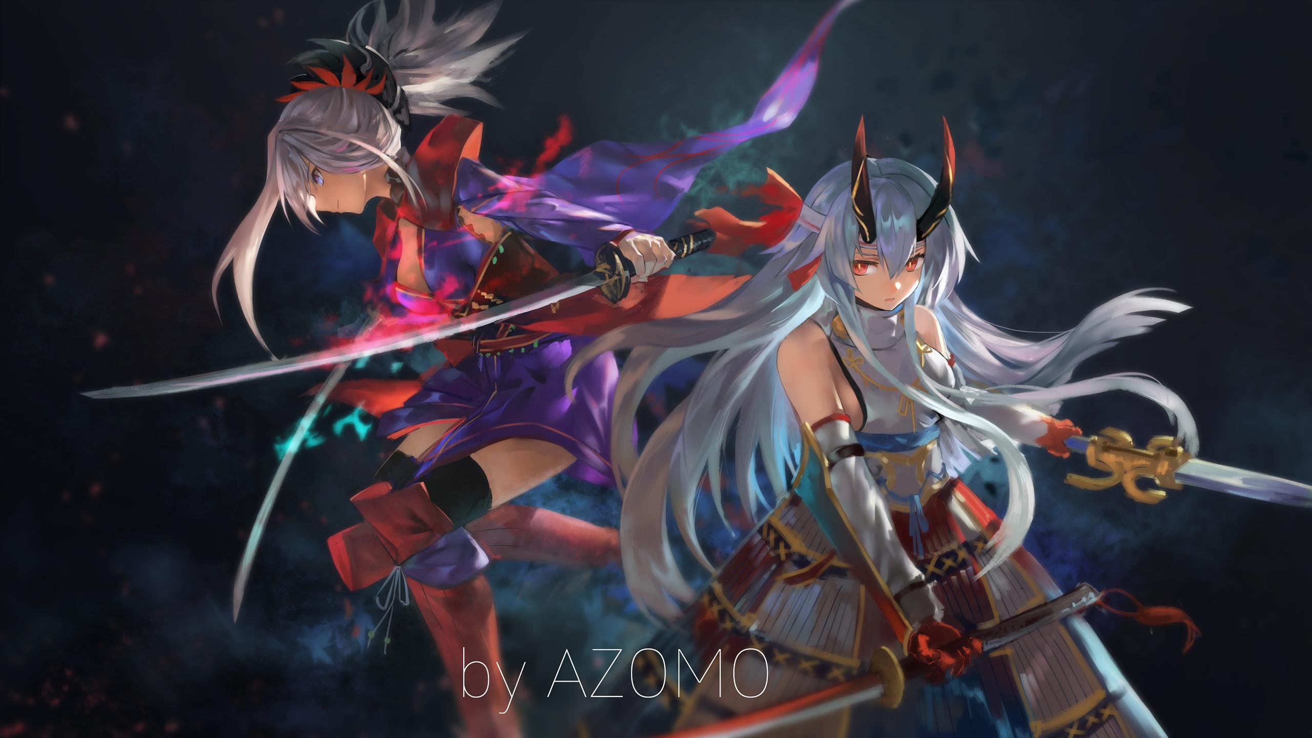 65512489_p0.png 2,560×1,440ピクセル Anime, Musashi, Miyamoto