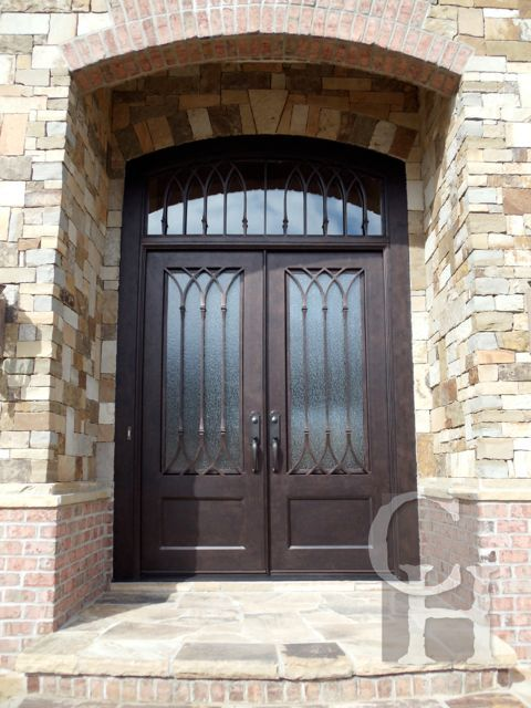 Iron Transom Clark Hall Iron Doors Charlotte Nc Doors Pinterest