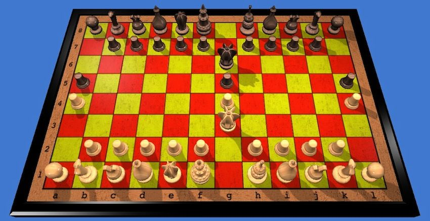 Courier Chess Chess Courier Board Games