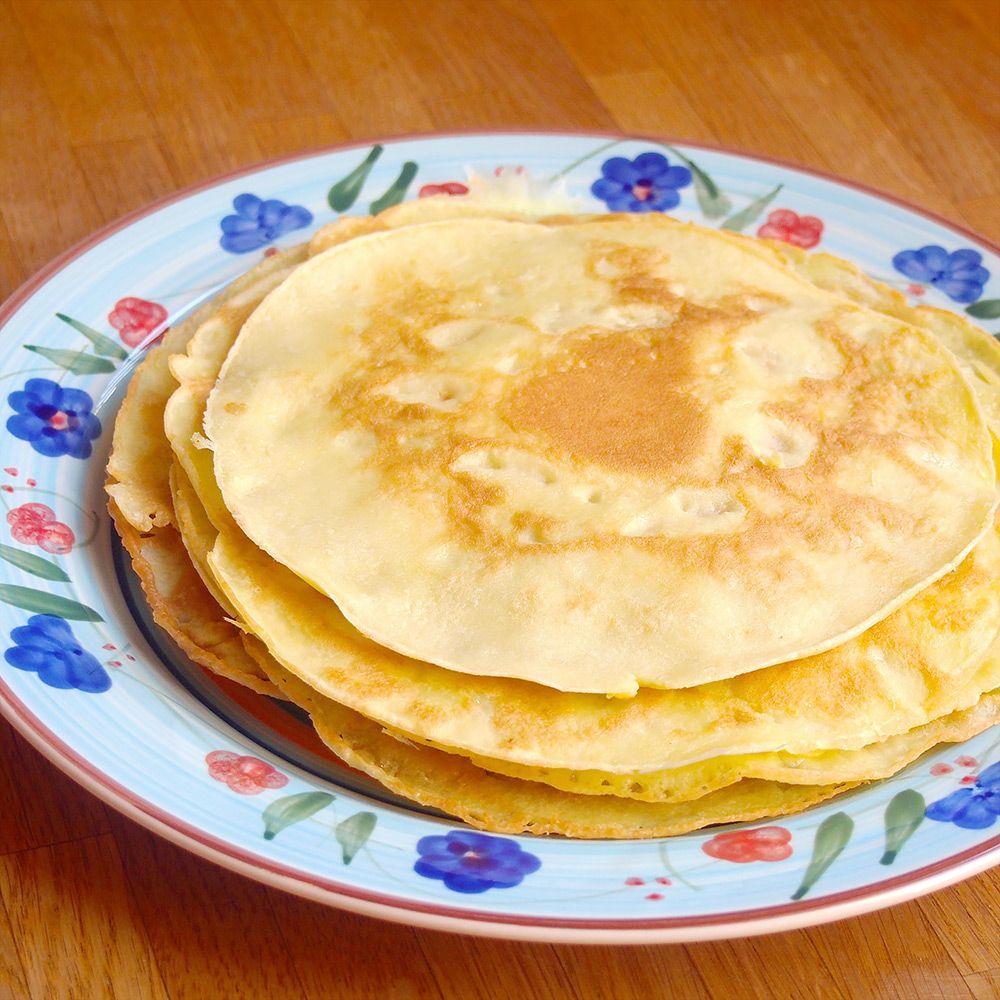 Glutenfreie Kokosmus-Pancakes  – C * Deutsche K. Vegan – Gluten