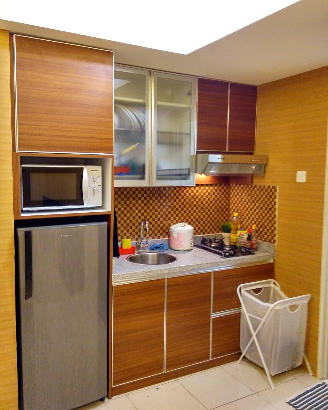 Kitchen Set Mini Modern Ide dapur, Desain interior, Desain