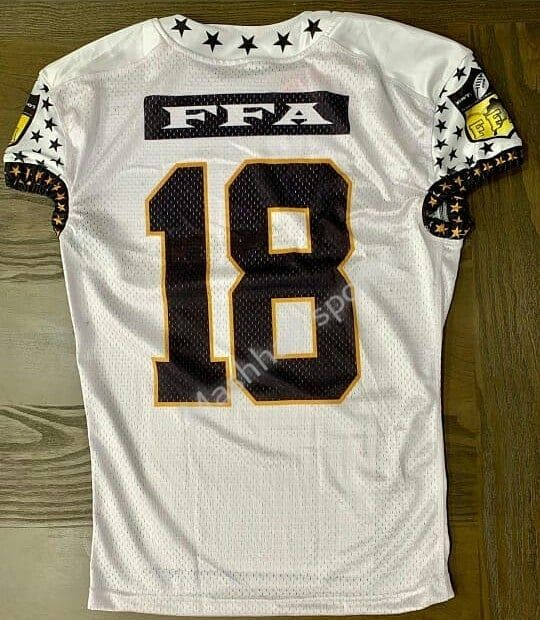 Sublimated American Football Uniforms Custom Design Quality With
