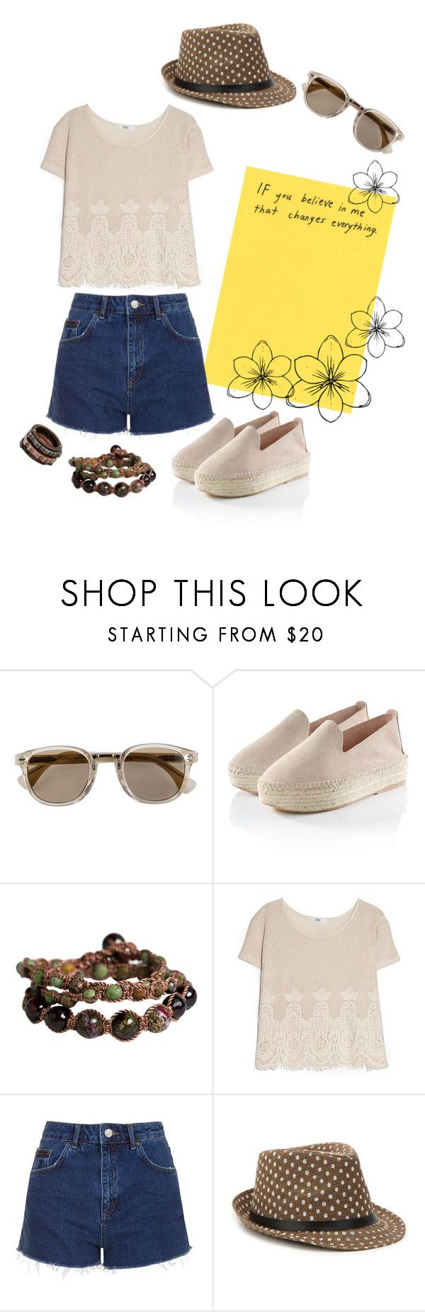 """""""Untitled #191"""" by nika-hp ❤ liked on Polyvore featuring Soul Journey Jewelry, MANGO, Topshop, Mix No. 6 and Bottega Veneta"""