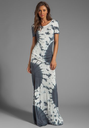 1c1596c5c4006 YOUNG, FABULOUS   BROKE Montauk Eclipse Wash Maxi in Grey - Young, Fabulous    Broke