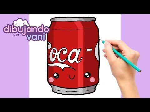 Como Dibujar Lata De Cocacola Kawaii Dibujos Faciles Anime Para Colorear How To Draw Cocacola Youtube Como Dibujar Dibujos Faciles Kawaii