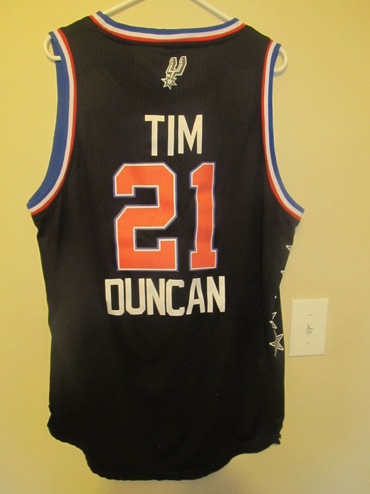 premium selection 80427 1e146 Tim Duncan NBA All Star Jersey jersey - Adidas Adult XL ...