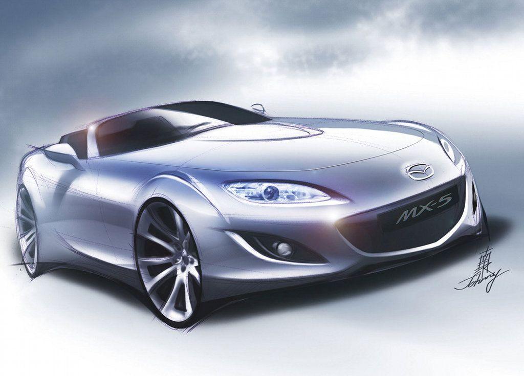 Mazda MX-5 sketch