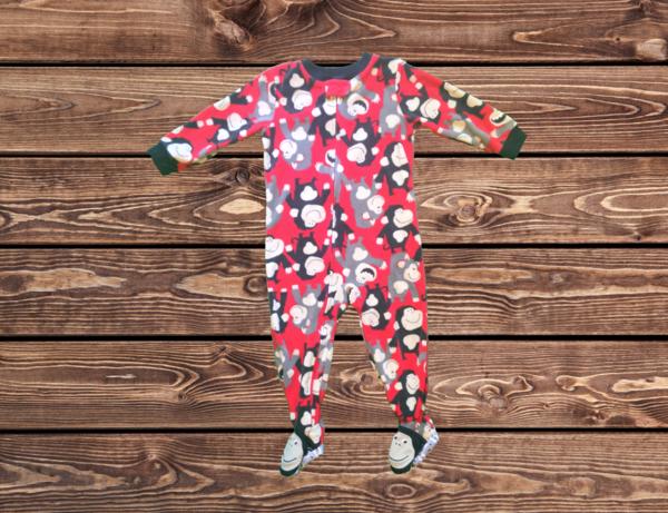 Boys Fleece Pajamas (Size: 2T)