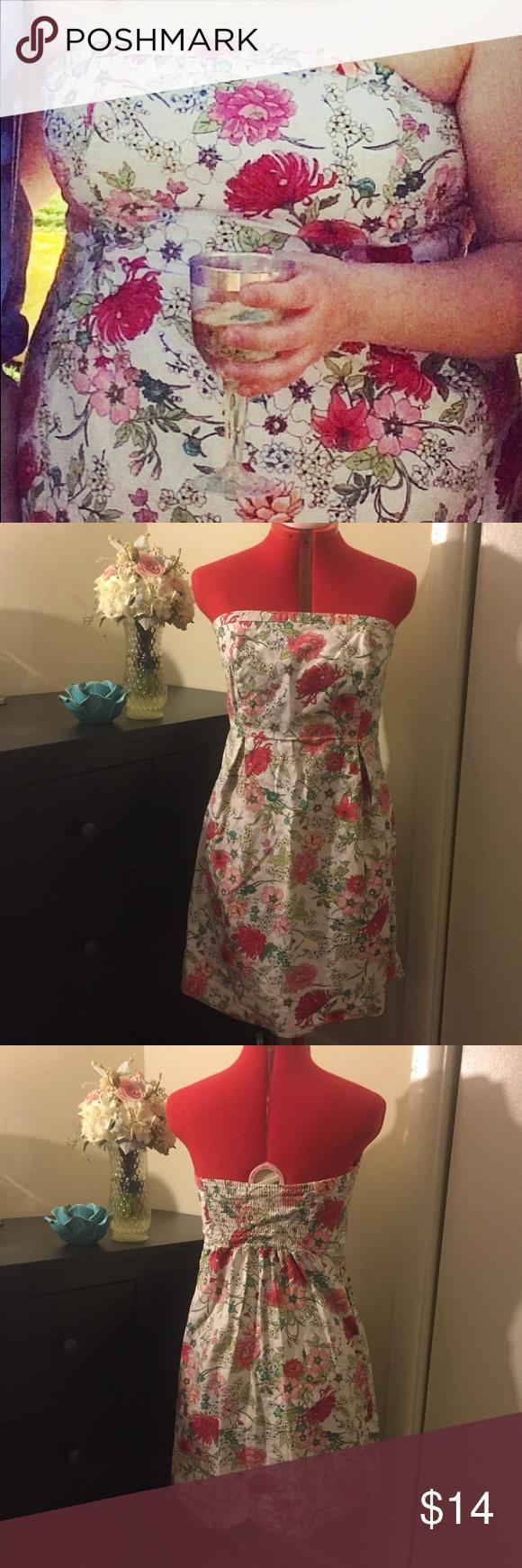 Old Navy Strapless Sundress Size 12 My Posh Closet Pinterest