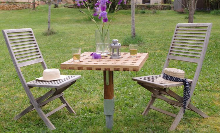 Réaliser une petite table d\'extérieur avec un pied central en 2019 ...