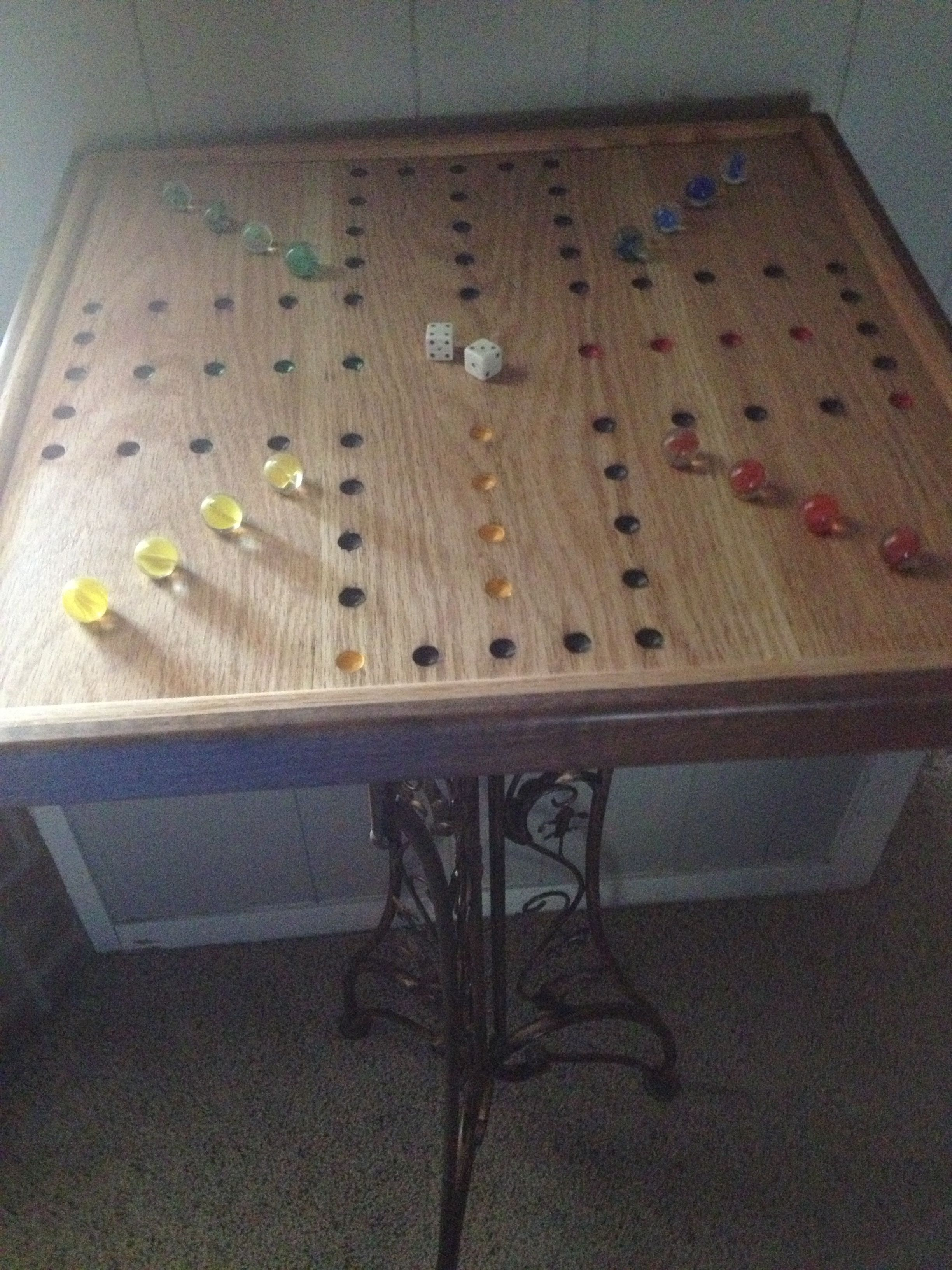 Wahoo Board Table {Game Room} | The Games We Play | Pinterest ...