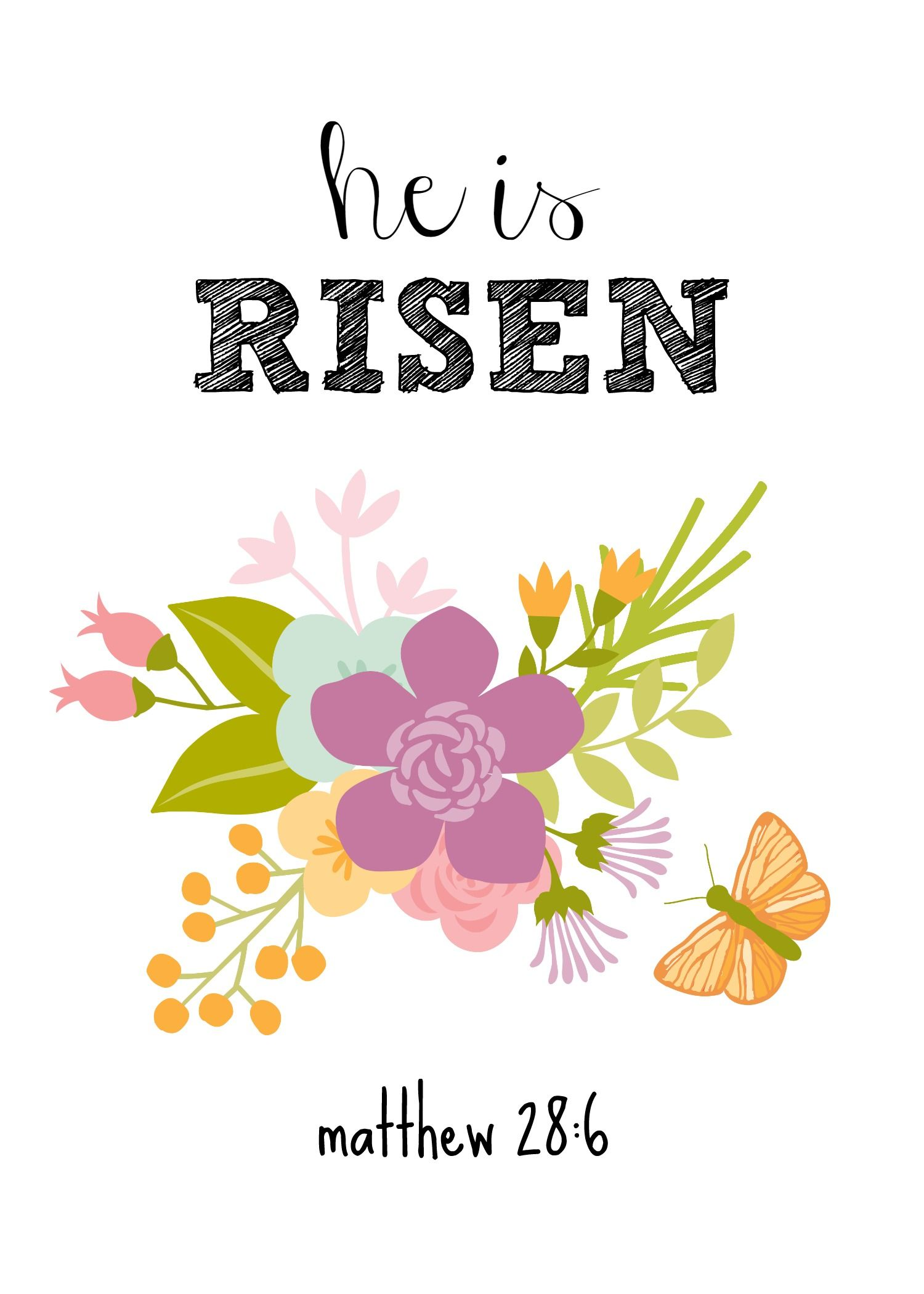 photo relating to He is Risen Printable named Pin upon All Variables Spring